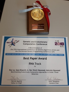 ACM Best Paper Award 2018!